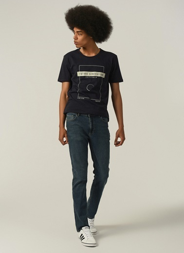 People By Fabrika Erkek  Jean Pantolon PFESS21JP0001 İndigo